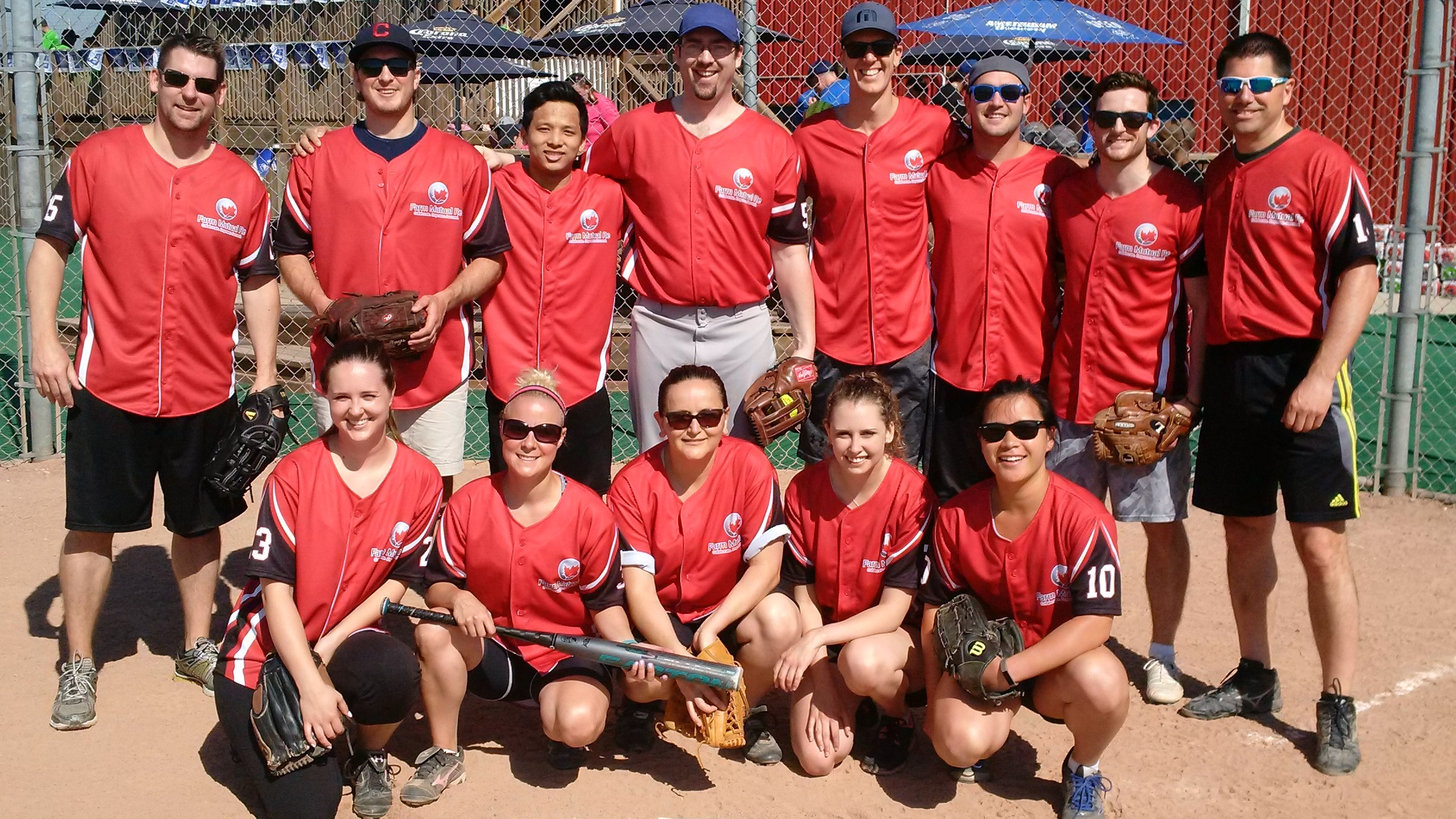 Farm Mutual Re softball team
