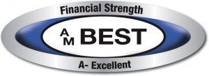 AM Best A- Excellent rating logo