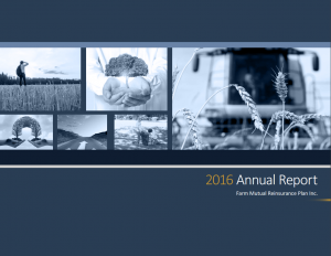 Cover of the 2016 annual report