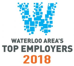 Waterloo Area Top Employers 2018 logo